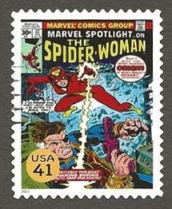US#4159q 2007 41c Spider-Woman, XF+ Used * #S18