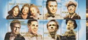 Finland 1999 #1115 MNH. Entertainers, booklet