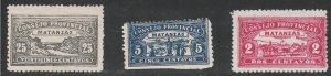 1902 Cuba Stamps Consejo Provincial Matanzas 3 NEW