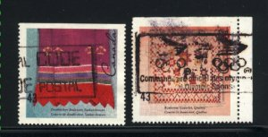 Canada #1463, 1465    used VF 1993  PD