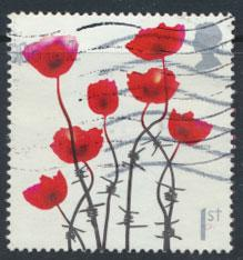 Great Britain SG 2883 SC# 2418a Used Lest we Forget see scan