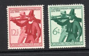 Germany #278-279  mnh