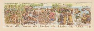Tokelau Islands Scott #103 Stamps - Mint NH Strip of 5