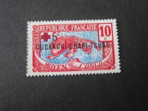 French Ubangi-Shari 1916 Sc B2 MH
