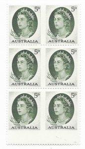 Australia  365a   1964  booklet pane fvf mint NH