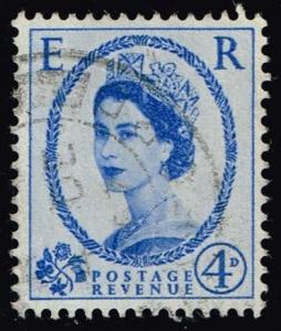 Great Britain #323 Queen Elizabeth II; Used (0.50)