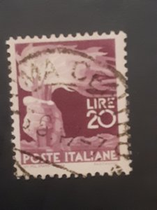 *Italy #474                 Used