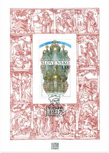 SLOVAKIA/2017, (Commemorative sheet) The 500th Anniv. of the Reformation, MNH