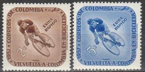 Colombia #C297-8 MNH (K1584L)