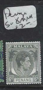 MALAYA PENANG   (P0906B)  KGVI  6C  SG 8  MNH
