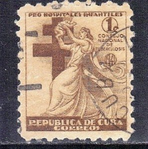 CUBA SC# RA4  **USED** 1941  1c      SEE SCAN