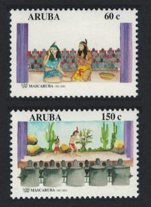 Aruba 40 Years of Mascaruba amateur theatre group 2v SG#289-290
