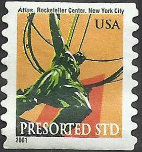 # 3520 USED ATLAS STATUE N.Y. CITY