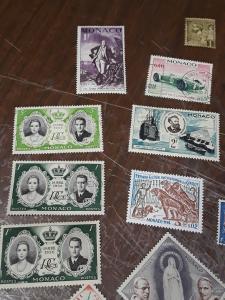 Monaco Mint & Used Lot