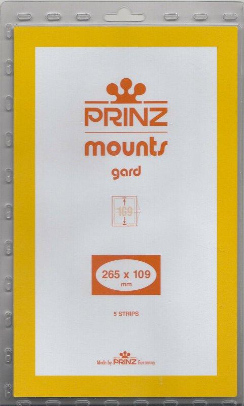 PRINZ 265X109 (10) CLEAR MOUNTS RETAIL PRICE $13.00