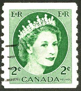 CANADA #345 USED