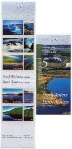 Canada - 2000 95c Fresh Waters Complete Booklet #BK229b