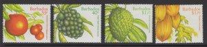 BARBADOS SG1116/9 1997 LOCAL FRUITS MNH
