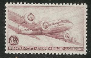 Belgium Scott C9 MNH** 1946 DC4 Airmail stamp