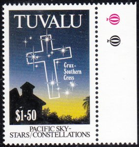 Tuvalu 1992 MNH Sc #589 $1.50 Southern Cross - Pacific Constellations