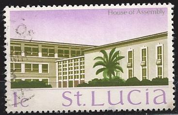 St. Lucia 261 1c House of Assembly used