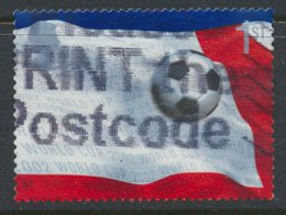GB  SC# 2057 World Cup Football 2002  SG 2293  Used   as per scan