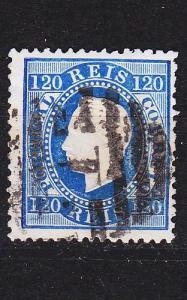 PORTUGAL [1870] MiNr 0042 B ( O/used ) [01]