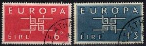 Ireland #188-9 F-VF Used CV $3.25 (X4157)