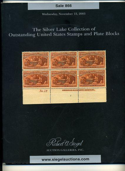 Siegel salle of the Silver Lake Collection of Early US