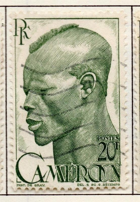 French Cameroon 1946 Early Issue Fine Used 20F. 151785