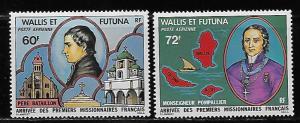 Wallis and Futuna Islands C80-81 French Missionaries set MNH