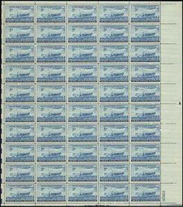 US  #958 SWEDISH PIONEERS CENTENNIAL   SHEET OF 50