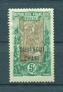 Ubangi-Shari sc# 40 mh cat value $21.00