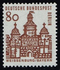Germany #9N222 Elling Gate - Weissenburg; MNH (1.75)