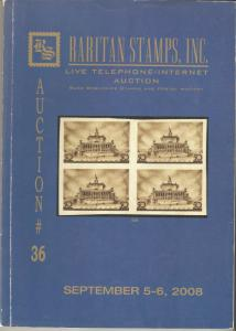 Raritan Catalog Auction #36,Sep 2008 Rare Russia, Errors & Worldwide Rarities