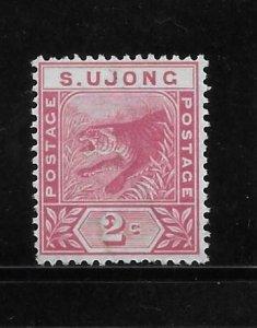Malaya Sungei Ujong 1891-94 Tiger 2c Used A1736