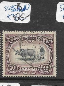 MALAYA  KEDAH   (PP2704B)  40C COW  SG 35BW  VFU