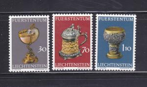 Liechtenstein 530-532 Set MNH Drinking Vessels