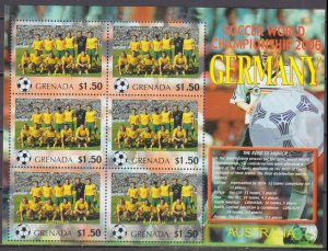 2006 Grenada 5728KL 2006 FIFA World Cup Germany( Australia ) 9,00 €