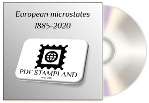 European microstates 1885-2020 (5 albums) PDF STAMP ALBUM PAGES