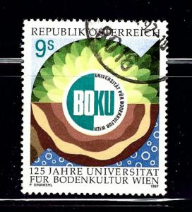 Austria 1735 Used 1997 Vienna Agricultural University