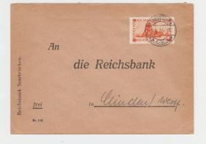 SAAR 1934, COVER TO UIUCLEU 60c RATED (SEE BELOW)