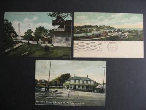 Canada 3 Port Stanley ON Ontario postcards 1907, 1909 (2)