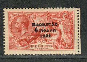 Ireland Sc#78b M/NH/VF, Natural Gum Crease, Wide 1922, Cv. $225