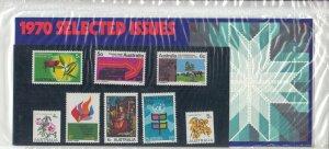 Australia 1970 QEII Selected Issues Presentation Pack Unopened