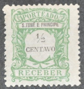 DYNAMITE Stamps: St. Thomas & Prince Islands Scott #J42 – MINT