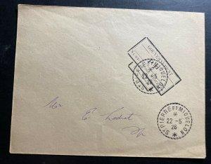 1926 St Pierre & Miquelon Government Official Cover