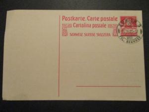 1923 Zurich Switzerland Postal Stationary Mint Postcard Cover