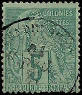 French Colonies  - 49 - Used - SCV-3.25