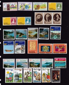New Zealand a mint selection early decimal includes sets